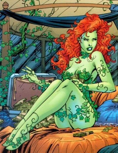 Poison Ivy Comics Art