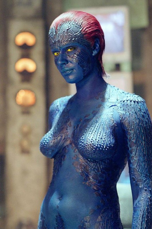 Rebecca Romijin - Mystique of the X-Men