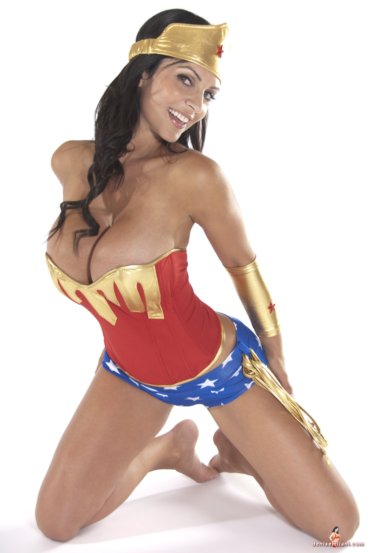 sex denise milani wonderwoman